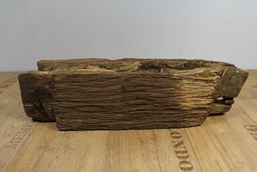 historischer Fachwerk Balken um 1720 Eiche Holz Querriegel ...