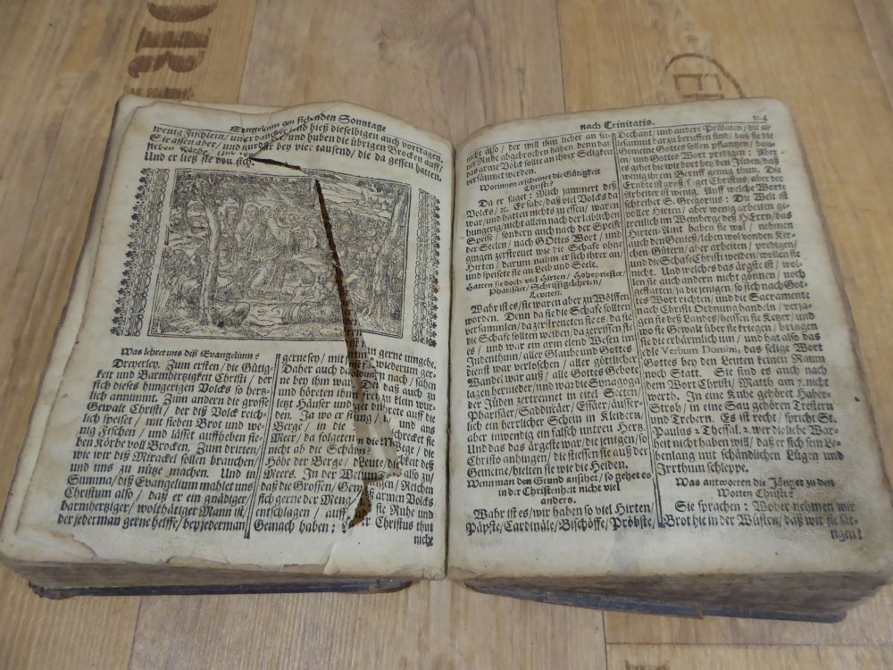 Antike Bibel Heilige Schrift Lneburg 1715 Cornelius