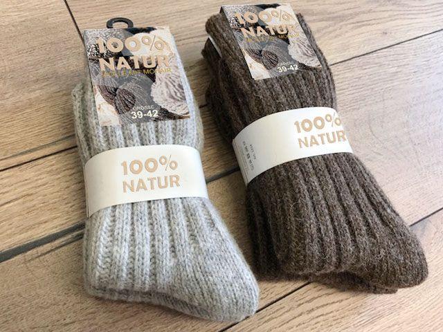 2-4 Paar warme Wollsocken 100/% Wolle Grobstrick Schafwolle für Damen Herren