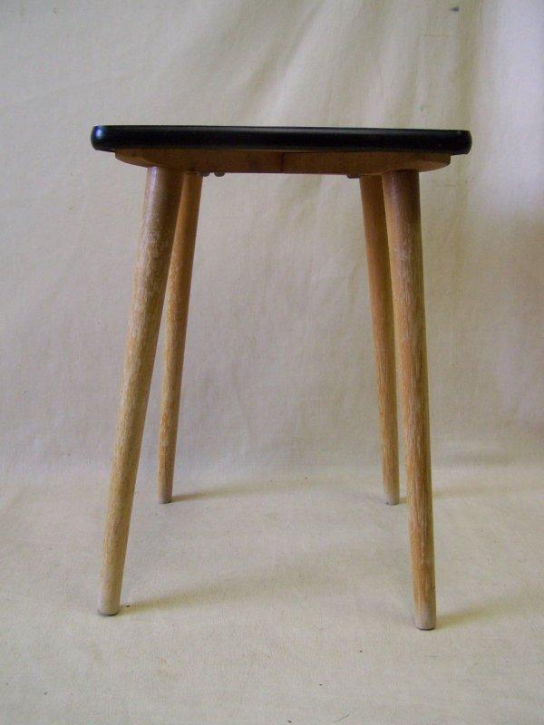 ddr holz hocker vintage retro design kult stuhl camping ebay. Black Bedroom Furniture Sets. Home Design Ideas