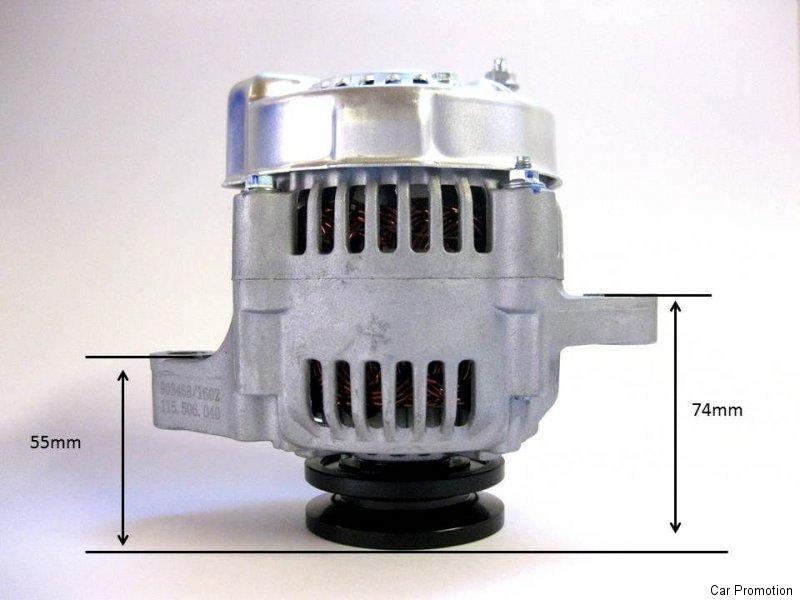 Lichtmaschine Kubota Denso 12V vgl.Nr. 16241-64012 1624164012 100211 ...