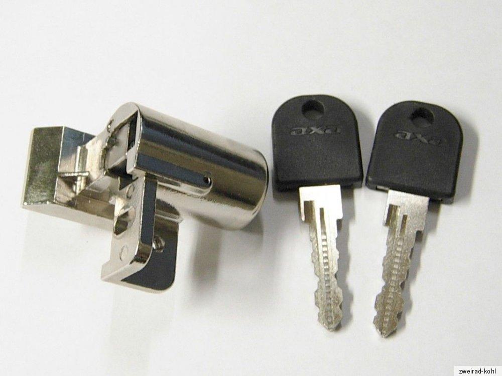 2 Schlüsseln f Panasonic Fahrrad Axa AKKUSCHLOSS