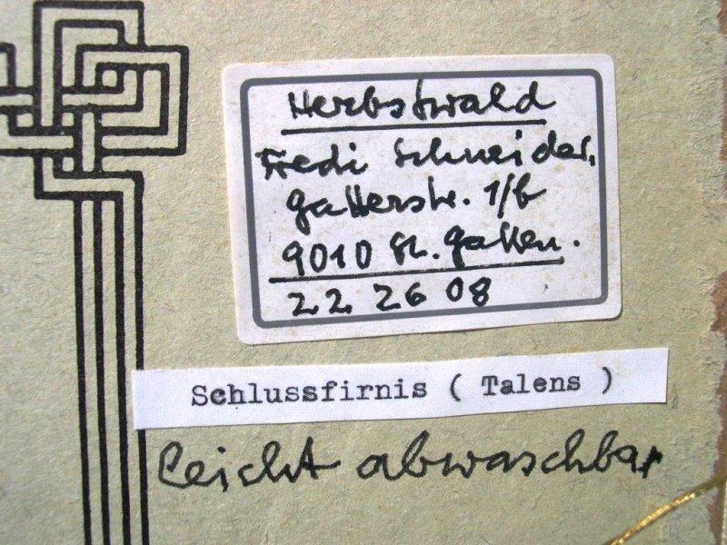 Alfred (Fredi) Schneider: Herbstwald | KUNSTHANDEL | KOSKULL