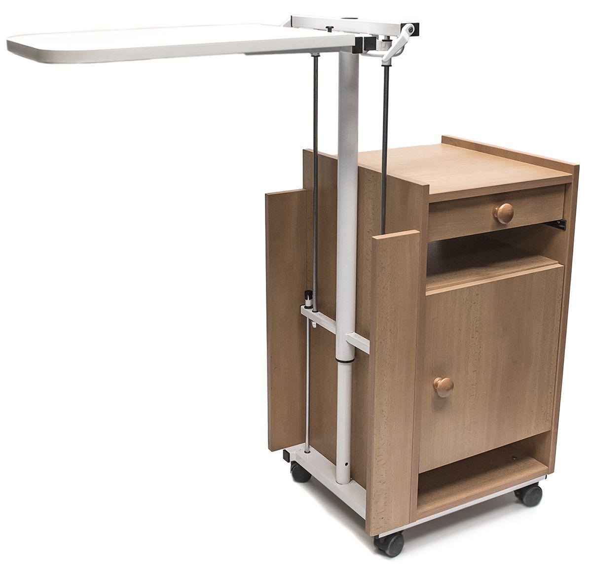 Nachttisch Beistelltisch Betttisch Nachtschrank Krankenhaus Reha