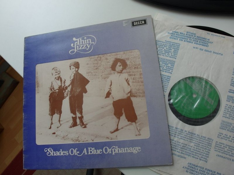 Thin Lizzy Quot Shades Of A Blue Orphanage Quot Uk Green Decca 1st