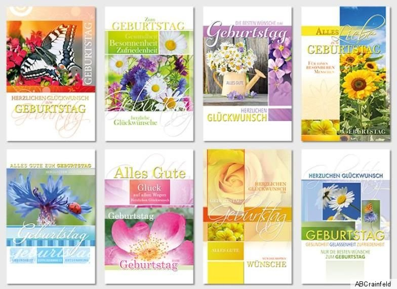 100 Geburtstagskarten Geburtstagskarte Glückwunschkarten Grußkarten sk 4770