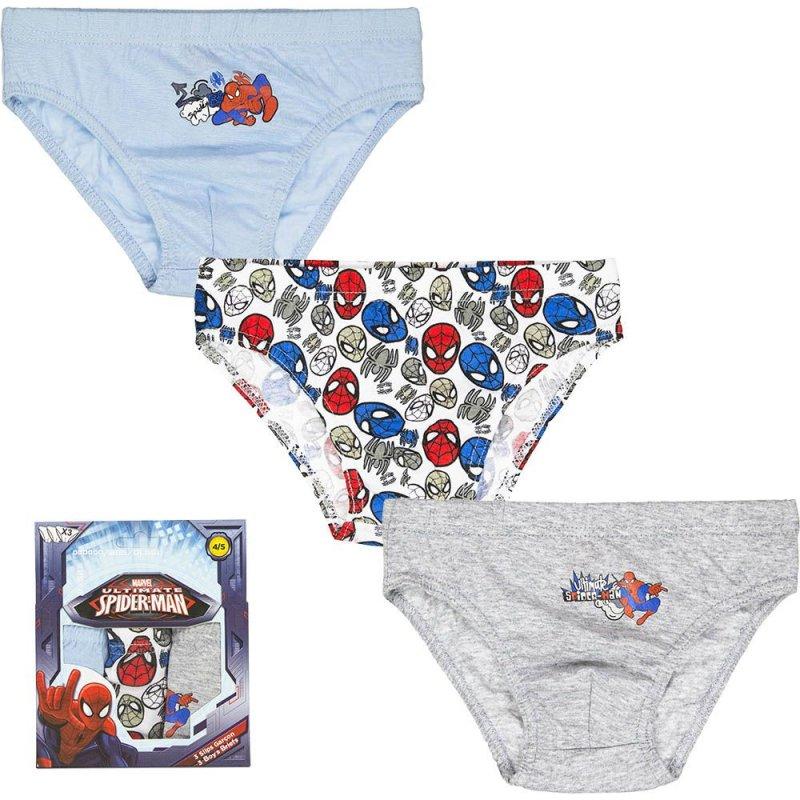 SPIDERMAN ~ Boy/'s Underwear Set ~ Undershirt /& Briefs  ~ 4T ~  NEW