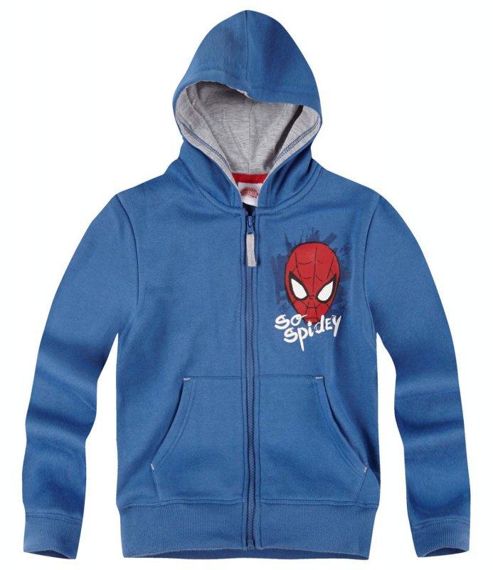 Spider-Man Chaqueta Sudadera con Capucha Gris 104
