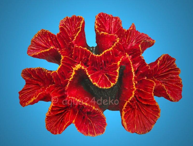 aquarium deko rosen koralle meer terrarium maritime dekoration stein 4011905088396 ebay. Black Bedroom Furniture Sets. Home Design Ideas