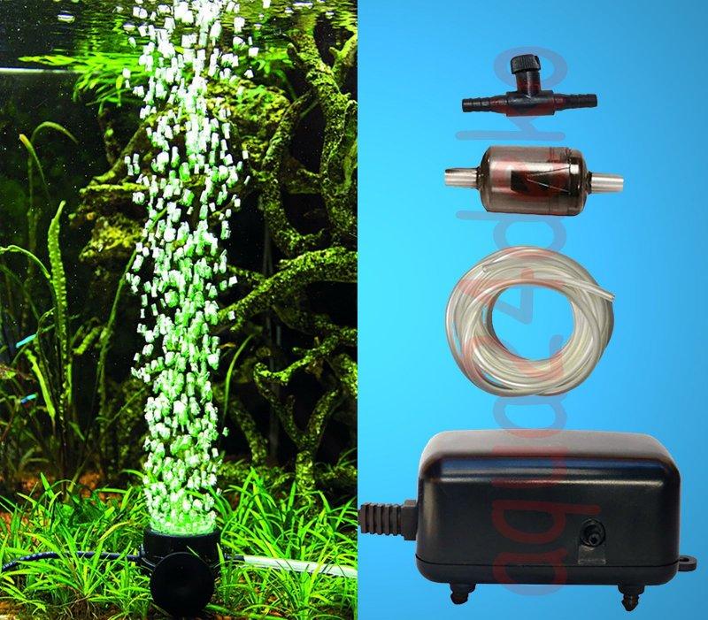 top aquarium deko led sprudler set daylight luftpumpe zubeh r 0vo ebay. Black Bedroom Furniture Sets. Home Design Ideas