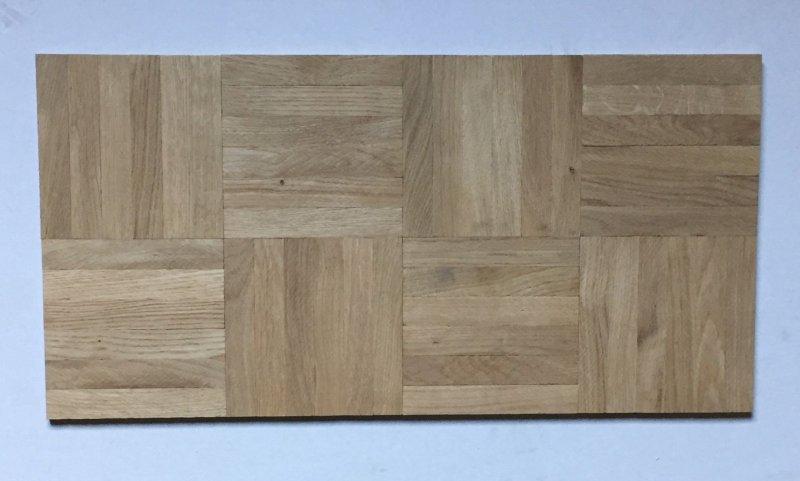 mosaikparkett eiche natur w rfel massivparkett eine verlegeeinheit 144mm lamelle ebay. Black Bedroom Furniture Sets. Home Design Ideas