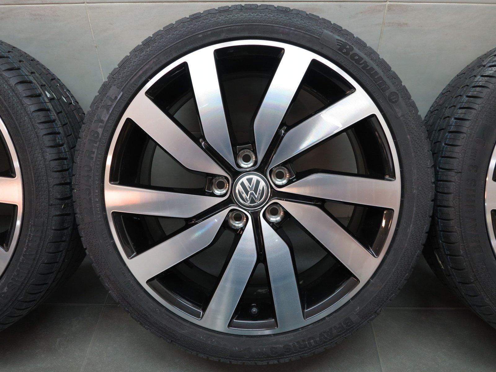 18 pouces pneus d 39 t originaux vw golf vi vii marseille. Black Bedroom Furniture Sets. Home Design Ideas