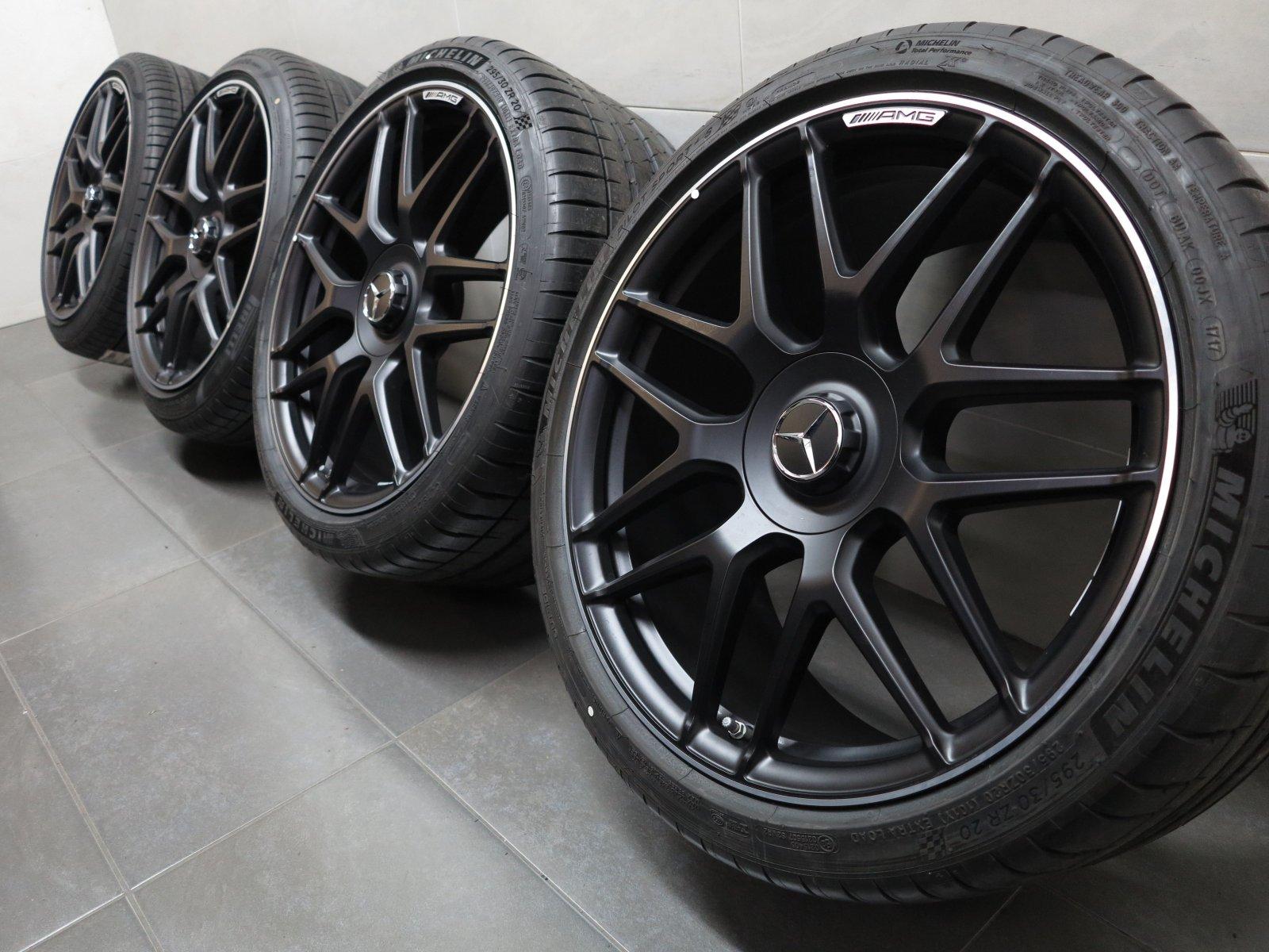 20 inch original summer wheels mercedes e class rims e63 e63s amg w213 b200 ebay. Black Bedroom Furniture Sets. Home Design Ideas