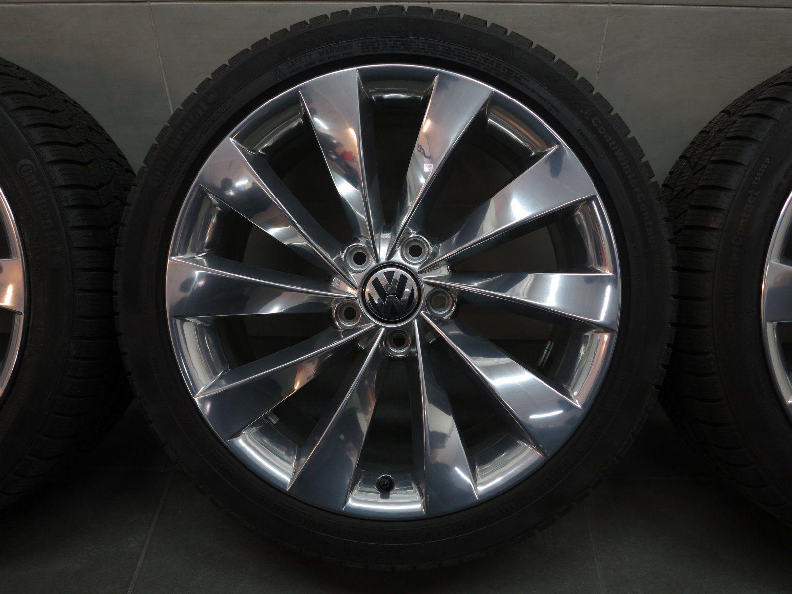 18 inch winter wheels original vw passat 3c cc scirocco interlagos 3c8601025ab ebay. Black Bedroom Furniture Sets. Home Design Ideas