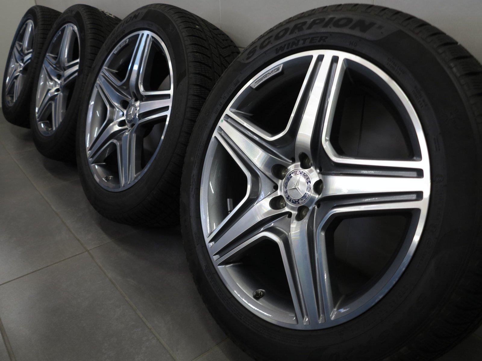 20 Inch Winter Tyres Mercedes Benz GL63 AMG W166 Rims A1664012202 | eBay