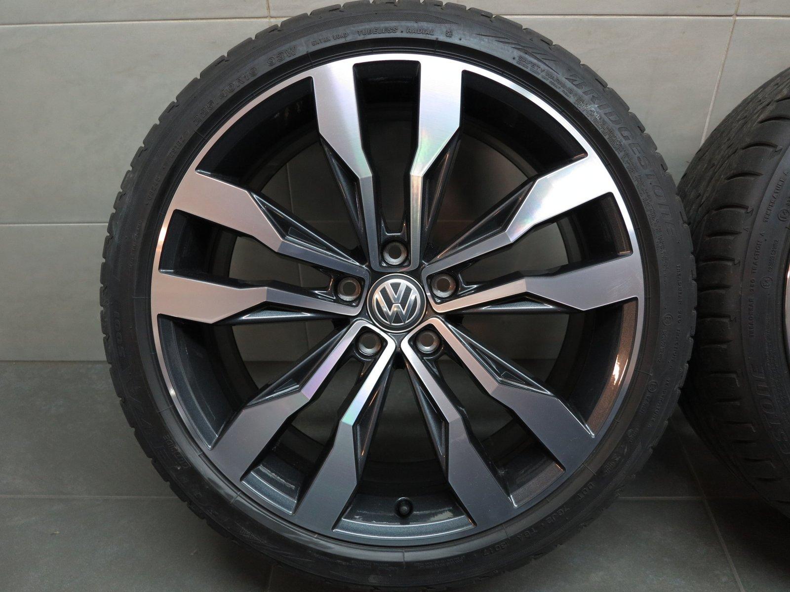 19 inch summer wheels original vw t roc 5n suzuka rims. Black Bedroom Furniture Sets. Home Design Ideas