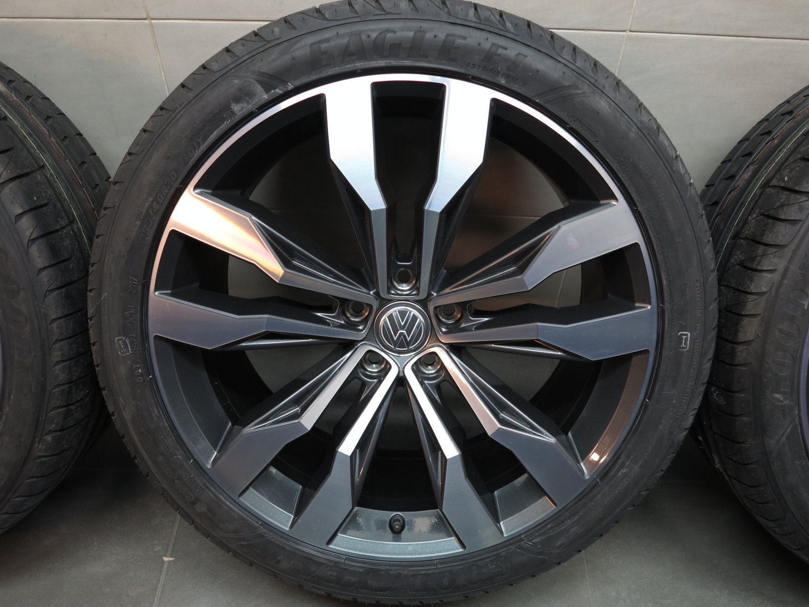 20 inch original summer wheels vw tiguan ii allspace r line suzuka 5na601025g ebay. Black Bedroom Furniture Sets. Home Design Ideas