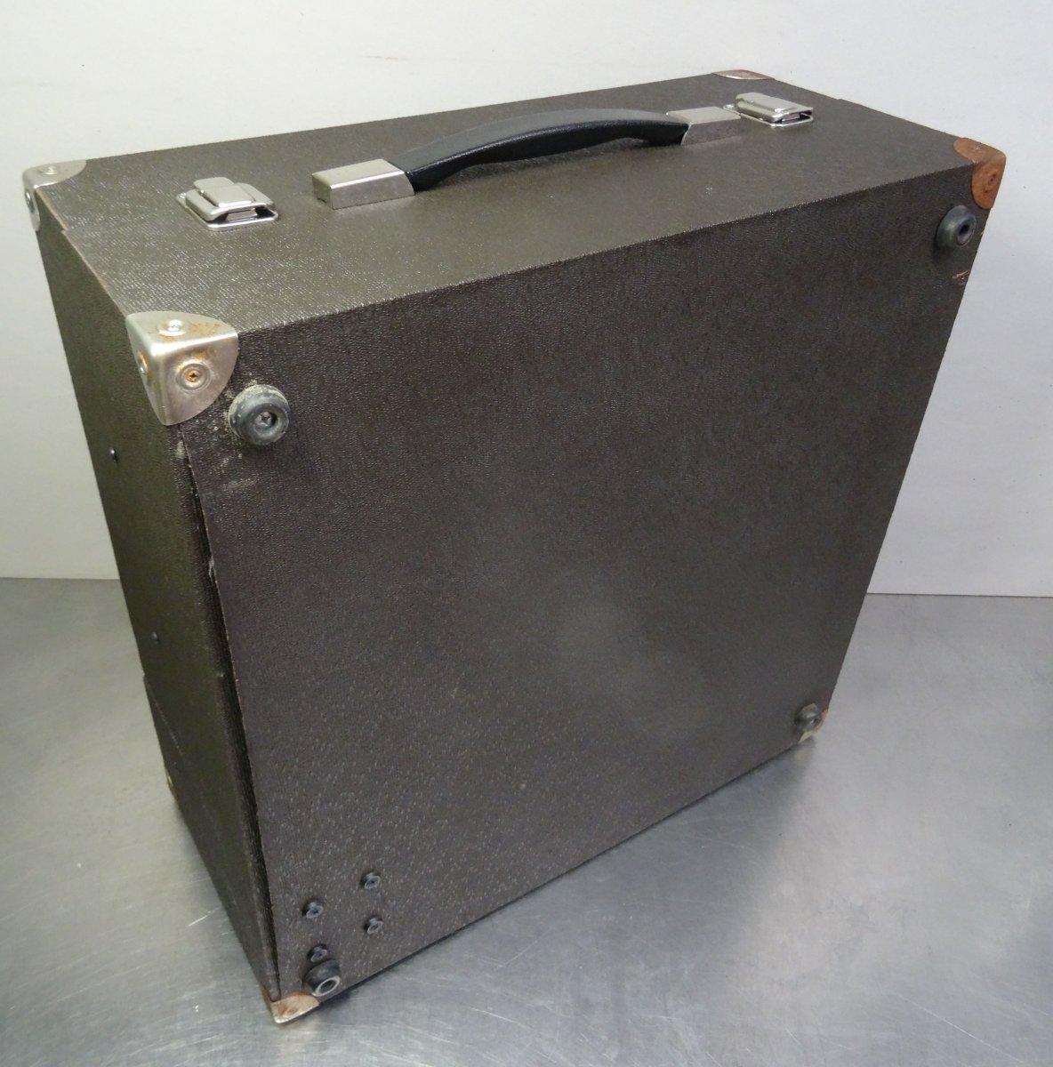 vintage turntable koffer plattenspieler dual asp 128. Black Bedroom Furniture Sets. Home Design Ideas