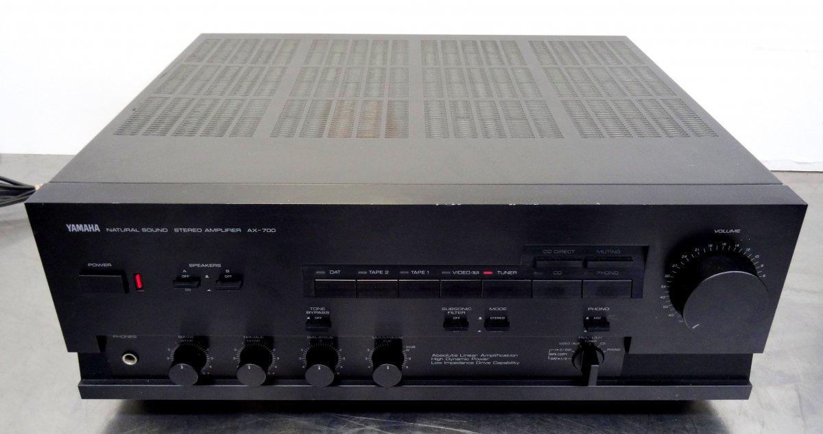 vintage hifi verst rker stereo amplifier yamaha ax 700. Black Bedroom Furniture Sets. Home Design Ideas