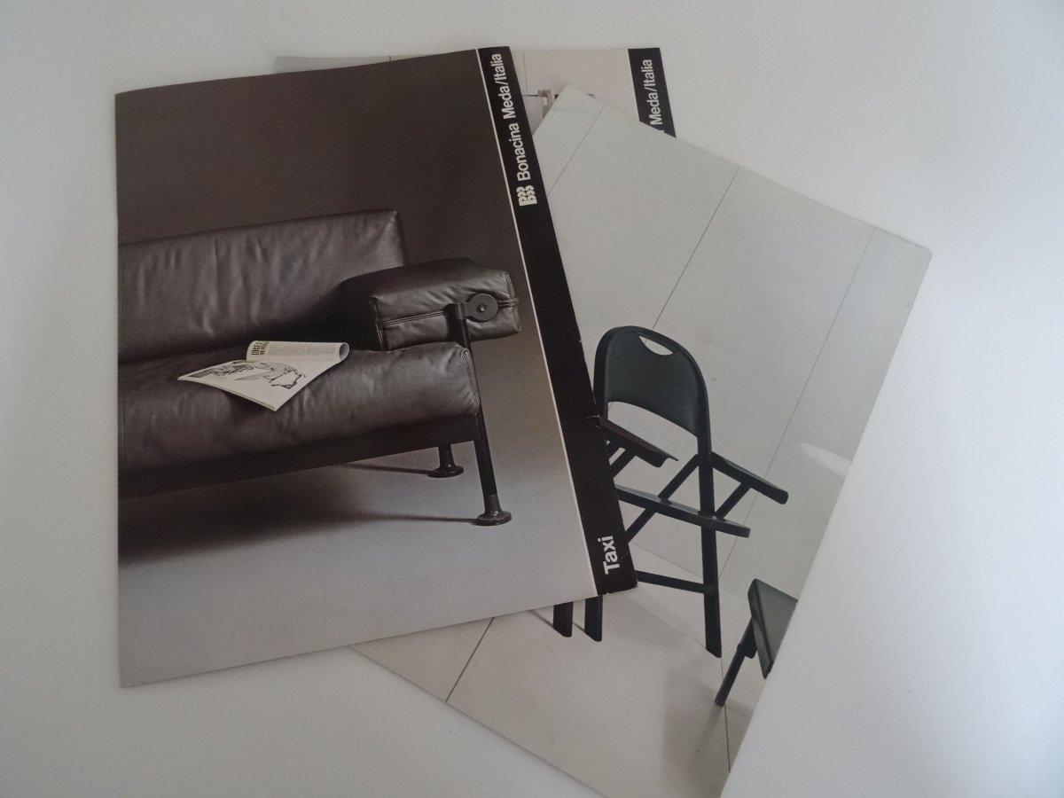 m bel design bonacina meda italia prospekt katalog messekatalog 80er jahre ebay. Black Bedroom Furniture Sets. Home Design Ideas