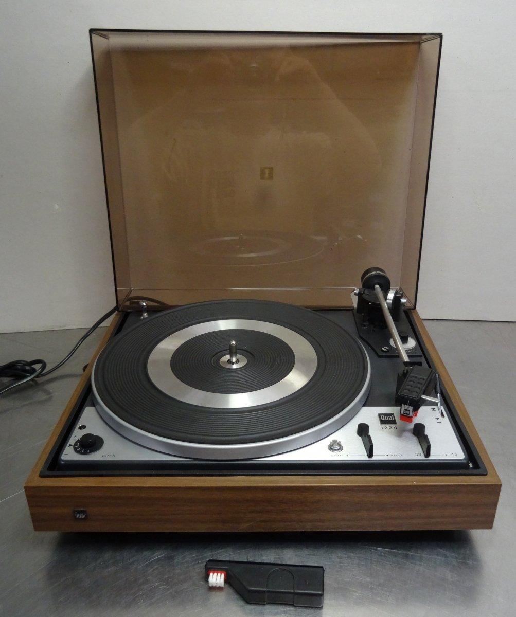vintage hifi turntable dual cs 1224 plattenspieler inkl. Black Bedroom Furniture Sets. Home Design Ideas