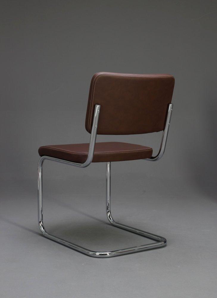 thonet s32 pv pure materials leder freischwinger braun bauhaus klassiker ebay. Black Bedroom Furniture Sets. Home Design Ideas