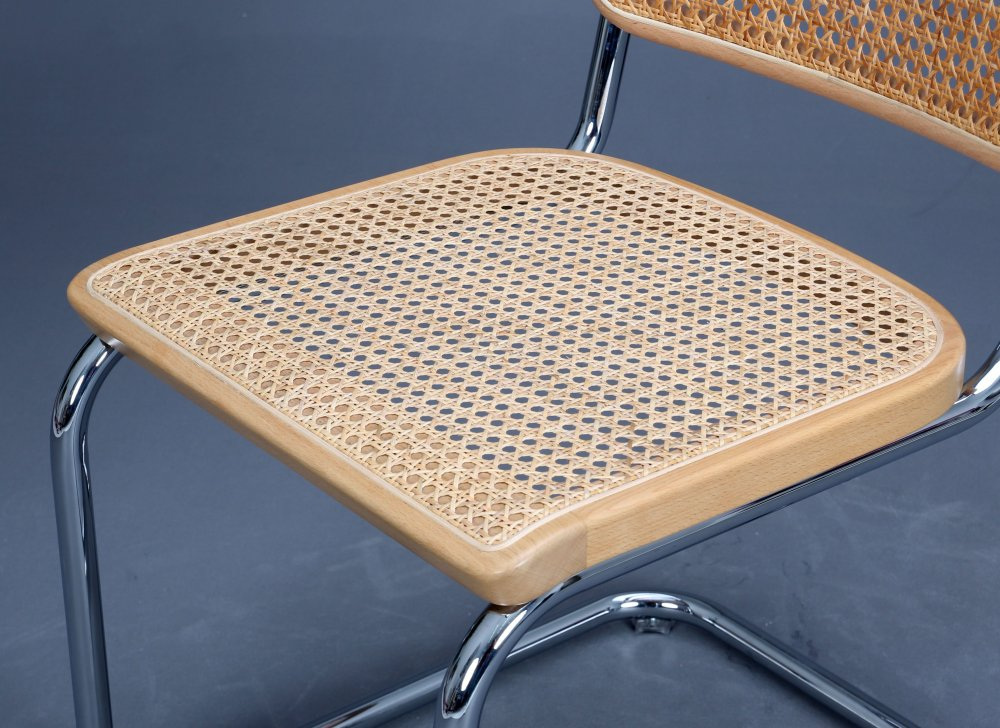 thonet s32 freischwinger bauhaus klassiker stuhl buche. Black Bedroom Furniture Sets. Home Design Ideas