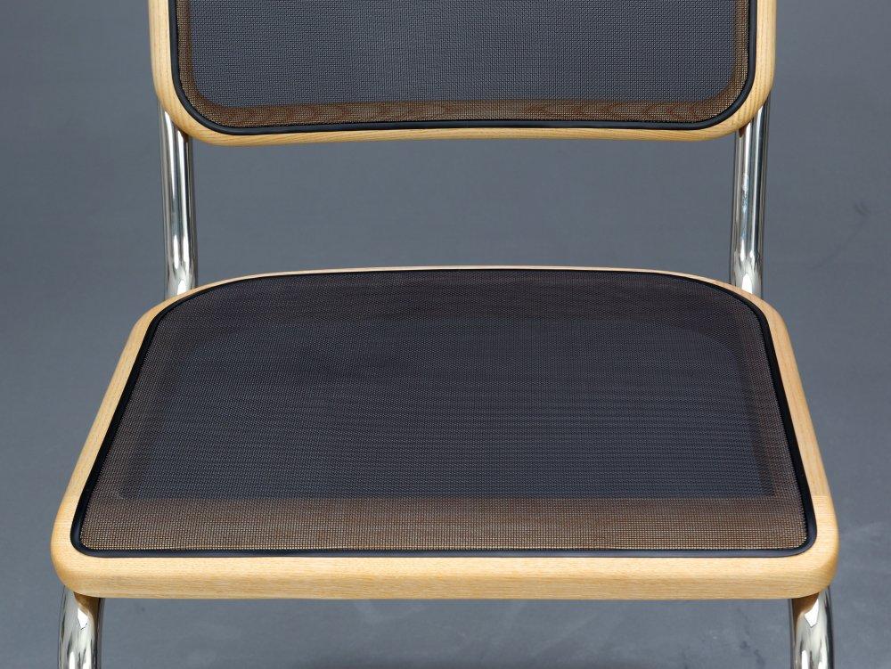 thonet s32 n pure materials bauhaus freischwinger stuhl. Black Bedroom Furniture Sets. Home Design Ideas