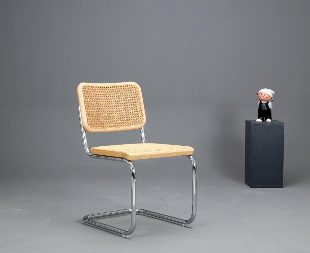 thonet s32 cantilever bauhaus classic chair beech breuer chair top ebay. Black Bedroom Furniture Sets. Home Design Ideas