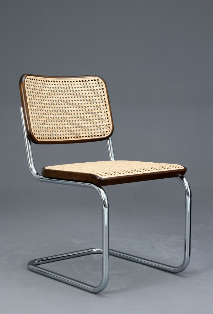 thonet s32 freischwinger bauhaus klassiker stuhl braun breuer chair ebay. Black Bedroom Furniture Sets. Home Design Ideas