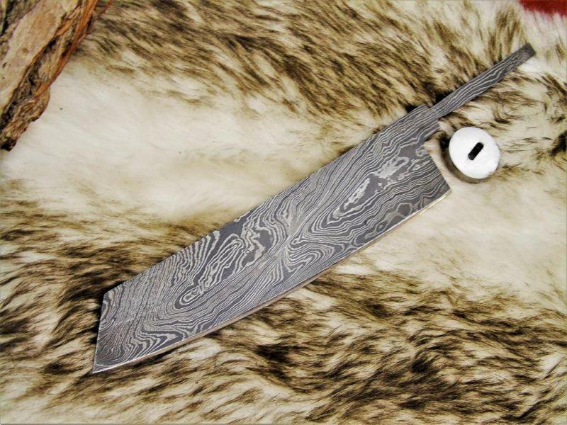 Damascos cuchilla Damascus Blank veta de nuevos cuchillo de cocina 4246#5