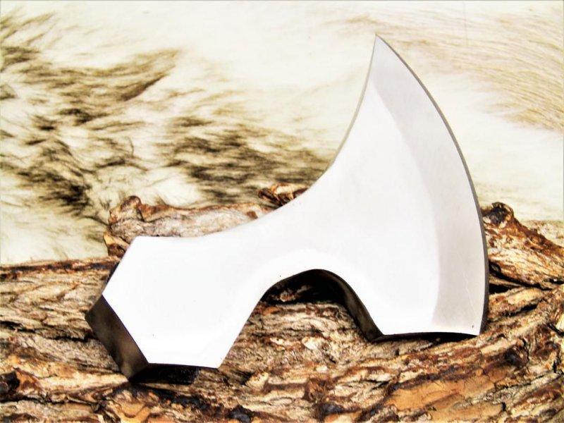 Axt Klingen High Carbon Stahl handverarbeitet Wikinger QEW
