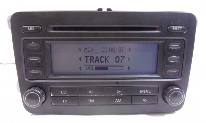 autoradio cd player rcd300 mit code vw golf v plus. Black Bedroom Furniture Sets. Home Design Ideas