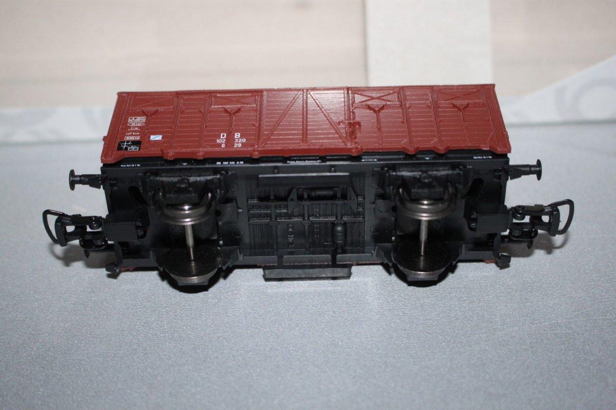 Piko 2-Achser gedeckter Güterwagen Party 1995 Spur H0 OVP
