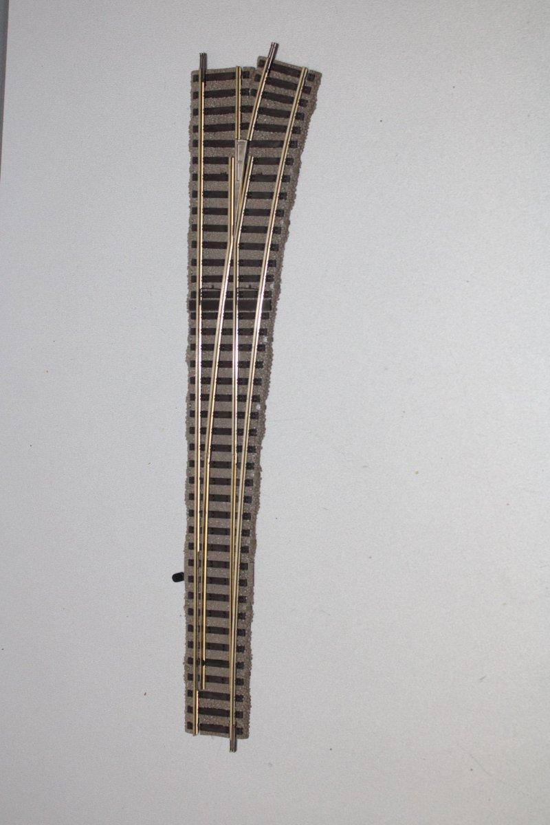 L ohne OVP H0 Fleischmann Profi Gleis 6142 Bogenweichenpaar R