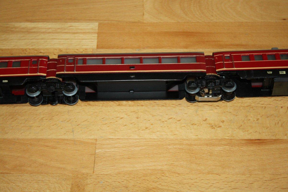 m rklin 3025 triebwagenzug 3 teilig 3 leiter gleichstrom spur h0 ebay. Black Bedroom Furniture Sets. Home Design Ideas