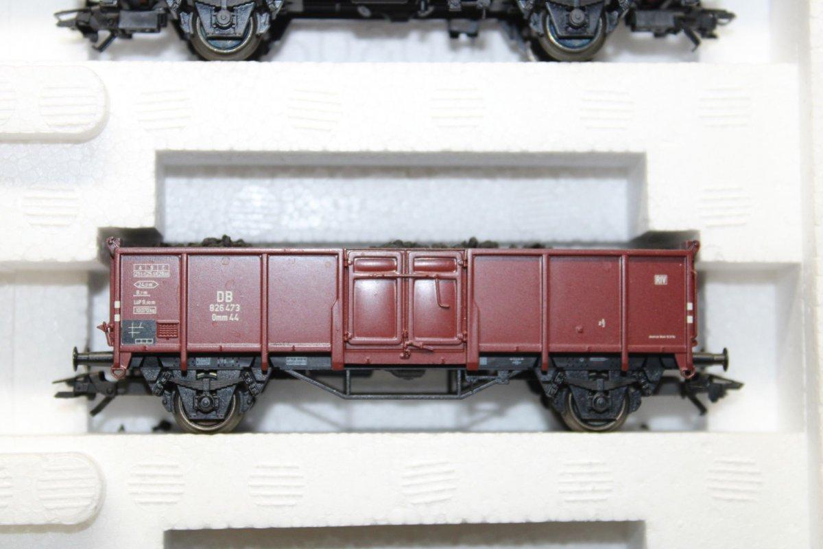 Märklin 46021 Wagen-Set Die junge DB 6 Hochbordwagen Spur H0 OVP