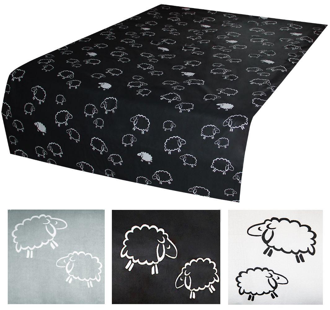 betttuch bettlaken haustuch ges umt ohne gummizug 150x250cm schafe l mmer wei ebay. Black Bedroom Furniture Sets. Home Design Ideas