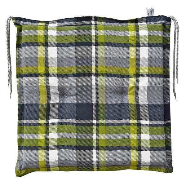 4 sitzkissen 47 x 47 cm in grau stuhlkissen kissen f r holz metall und geflecht ebay. Black Bedroom Furniture Sets. Home Design Ideas