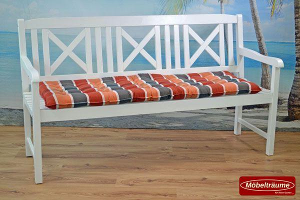 bankauflage 140 cm auflagen f r bank gartenbank holzbank. Black Bedroom Furniture Sets. Home Design Ideas