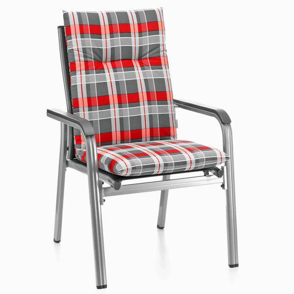 Kettler Gartenmöbel Auflagen für Sessel Stapelstuhl Stapelsessel Stapelstühle