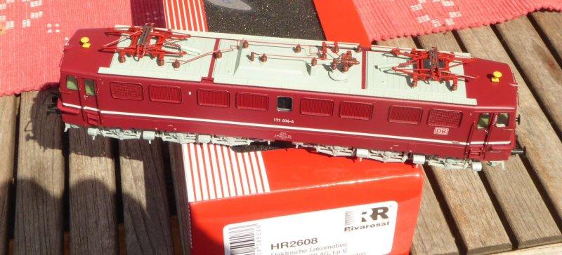 HR2608 E-Lok BR 171 014-4 DBAG Ep.5 rot mit schmalem Zierstreifen  H0 Neuware