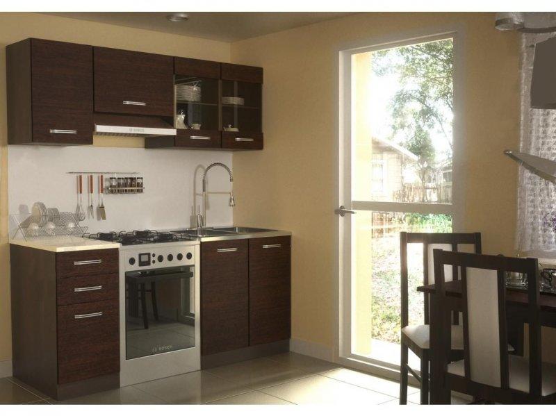 neu komplette k che alina 180 cm verschiedene farbkombinationen ebay. Black Bedroom Furniture Sets. Home Design Ideas