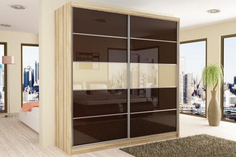 neu schwebet renschrank kleiderschrank beauty 133x218x60. Black Bedroom Furniture Sets. Home Design Ideas