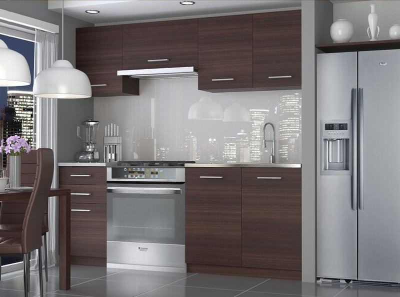 neu komplette k che economy 180 cm verschiedene farbkombinationen ebay. Black Bedroom Furniture Sets. Home Design Ideas