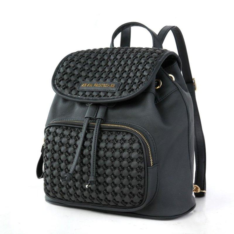 41d835ee117d9 Damen Bagpack Backpack Damentasche Rucksack Lederrucksack Nieten ...