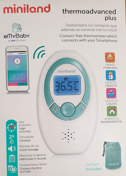 Miniland Infrarot Fieberthermometer Baby Thermoadvanced