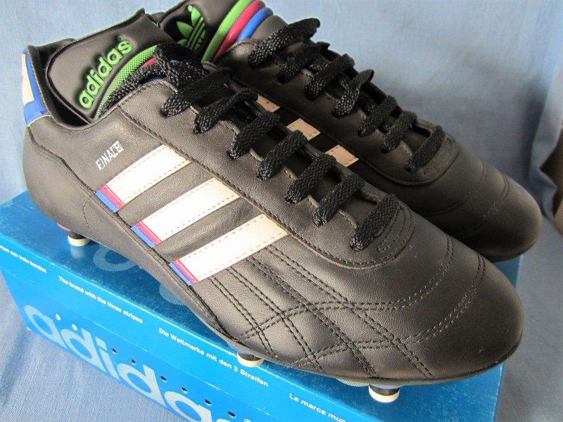 ADIDAS MINIATUR LEDER Schuhe Fußball Rarität Selten vintage