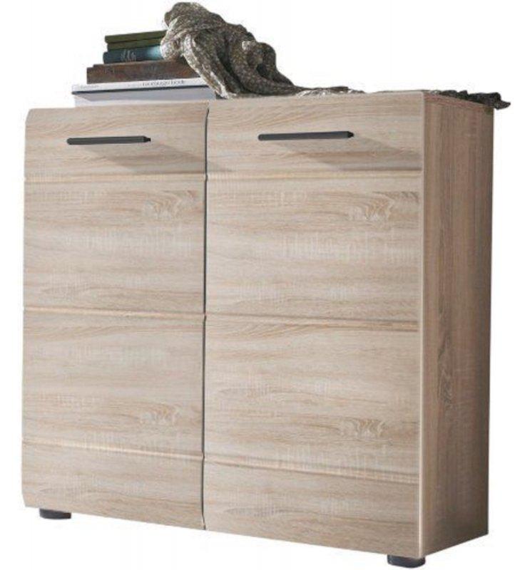 trendteam sn86745 schuhschrank schuhkommode eiche s gerau. Black Bedroom Furniture Sets. Home Design Ideas