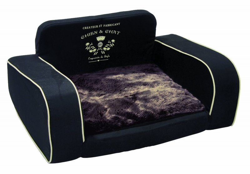 bobby cbpres hunde sofa preston xs schwarz hundebett b ware ebay. Black Bedroom Furniture Sets. Home Design Ideas